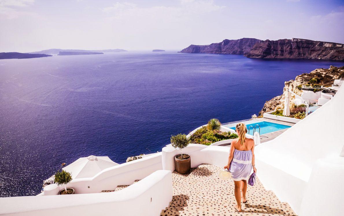 filotera hotel ocean views oia santorini greece
