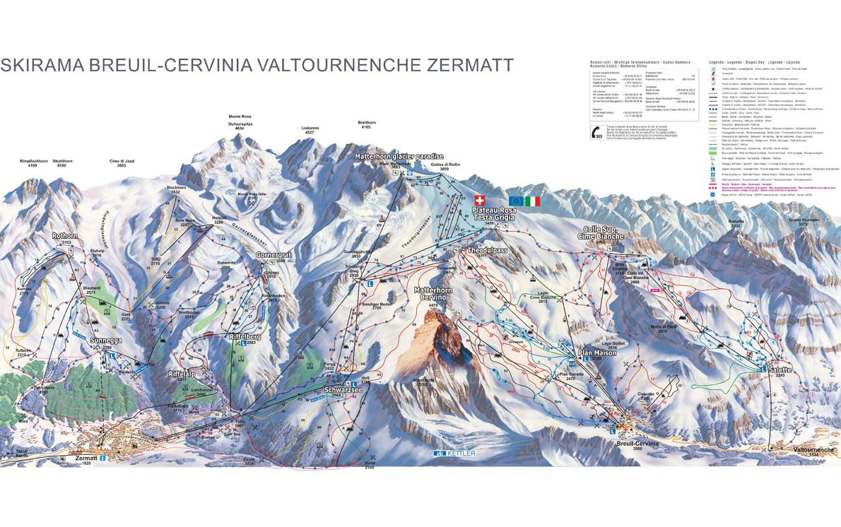 zermatt-breuil-cervinia-ski-map