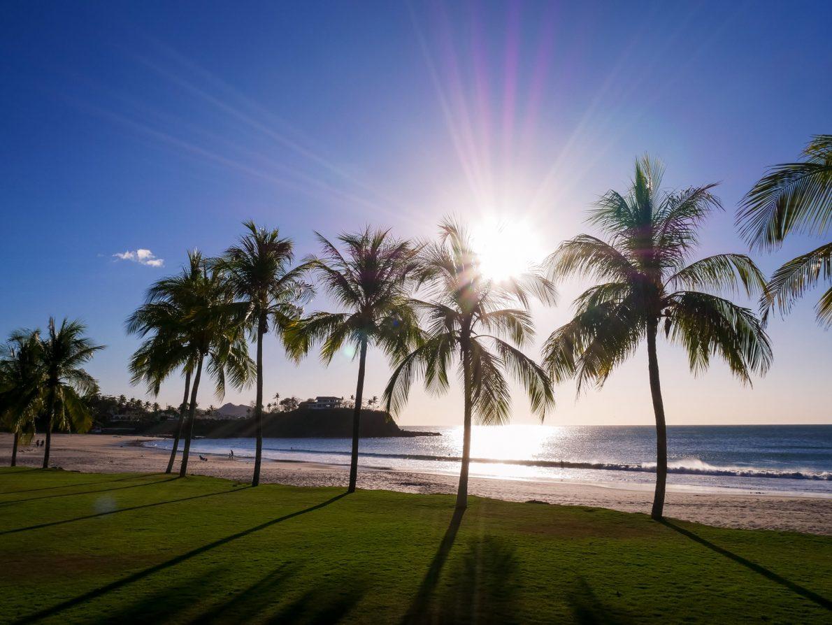 sunset guanacaste costa rica