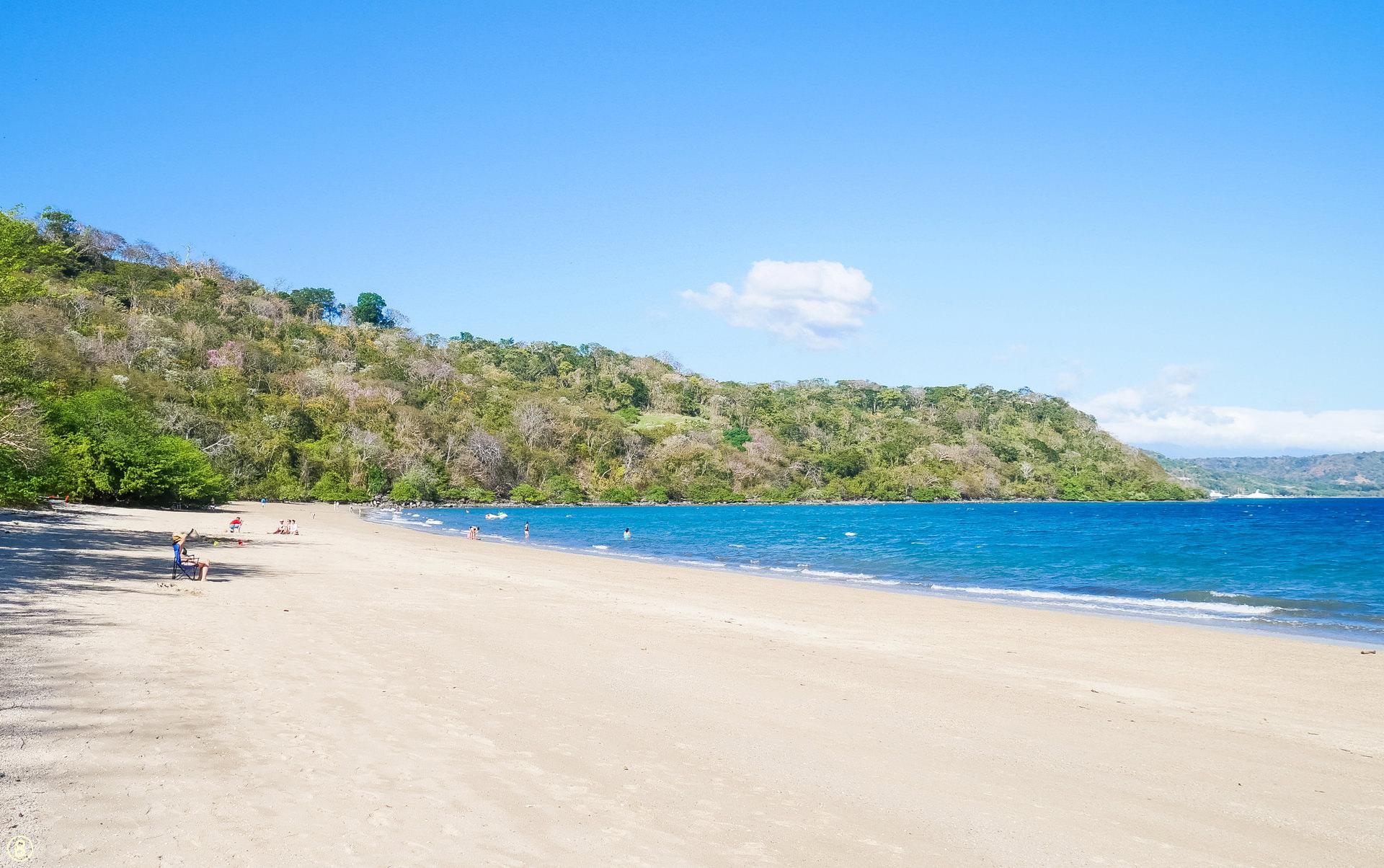 playa blanca beach papagayo guanacaste costa rica