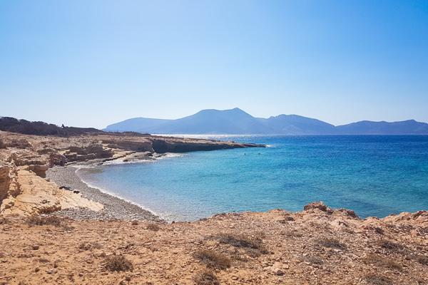 beach koufonissia greece