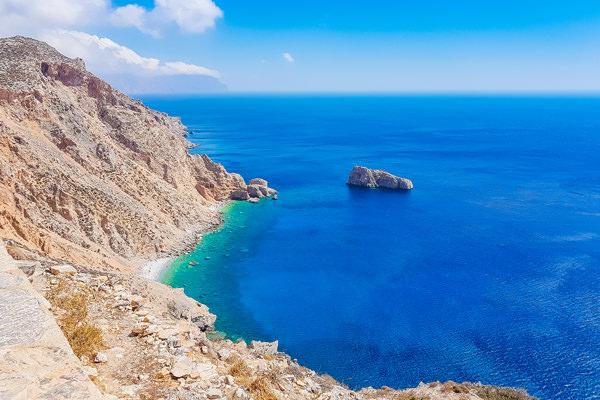blue waters amorgos greece