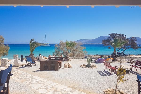 fanos beach blue water koufonisia koufonissia greece