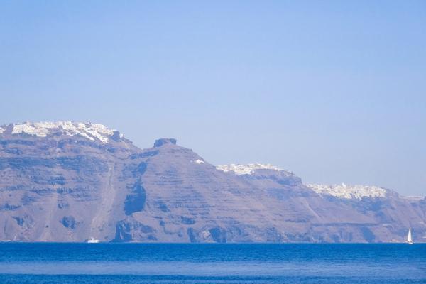 imerovigli volcano caldera santorini greece