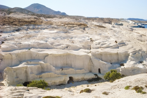 milos white rocks