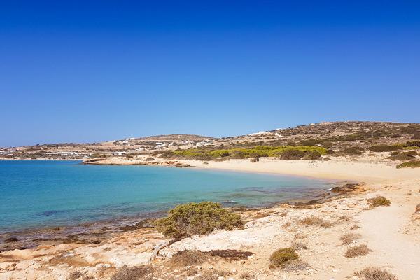 platia pounta beach blue water koufonisia koufonissia greece