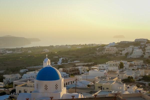 ocean views santorini greece