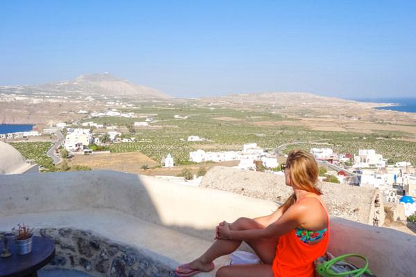 views santorini greece