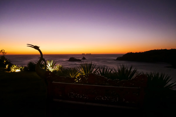 casa chameleon hotel guanacaste costa rica sunset